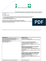 First Aid Risk Assessment Template