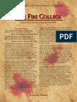WFRP2 Classics - The Fire College