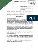 PROHIBEN REELECCION INMEDIATA DE CONGRESISTAS
