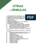 70 Formulas Varias