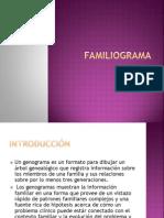 Familogramas Explicacion Para Hacerlos