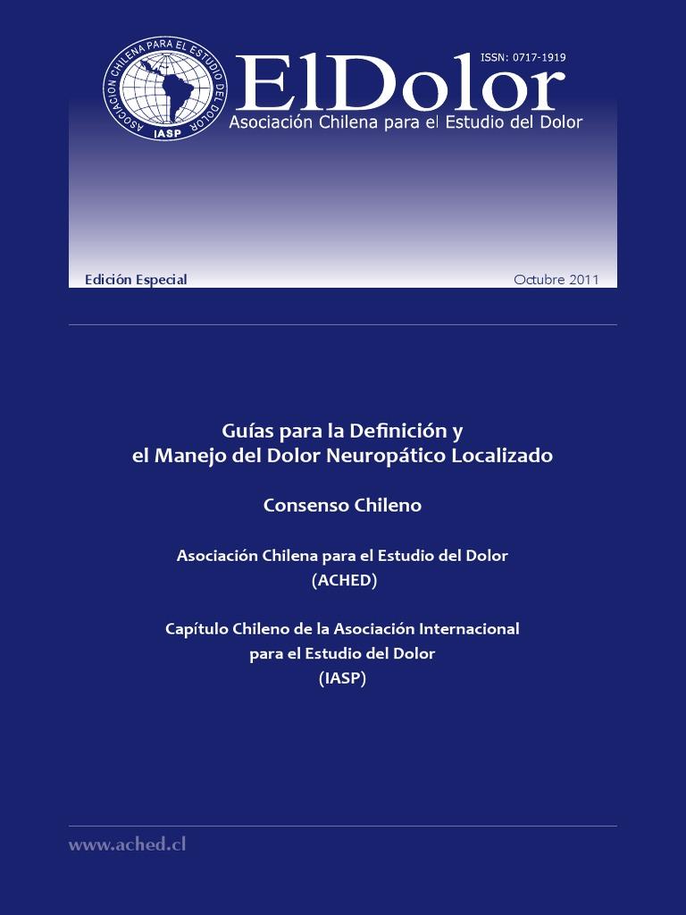 guia_dolor_neuropático_consenso chileno - Medicamentos con..