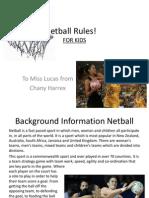 Netball Rules!