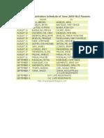 PRC+Manila+Registration+Sched+for+June+2009+NLE