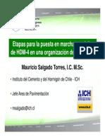 MST_Etapas para la puesta en marcha con éxito de HDM-4 en una organización de carreteras
