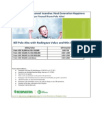 Redington Value Channel Incentive