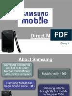 Direct Marketing samsung