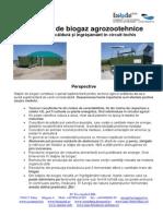 Statii de Biogaz Agrozootehnice