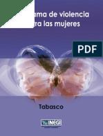Panorama Violencia Género Tabasco