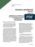 TIB 2 Horizontal vs Vertical Pumps