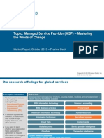 Managed Service Provider (MSP) – Mastering the Winds of Change