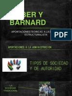 Weber y Barnard