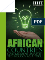 Sub Saharan Africa is fast developing with Technology as a Tool!!!
