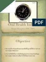 Oral Health Indices