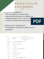 1.2.- La estructura de los polímeros