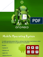 ANDROID - An Brief Introduction