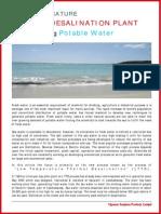 Low Temperature Thermal Desalination Plant ( LTTD)