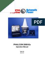 Phalcon 2000Ex Operation Manual Iss 4e