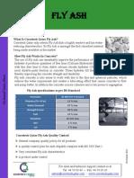 FlyAsh Data Sheet
