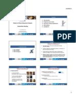 Stakeholdersmeeting