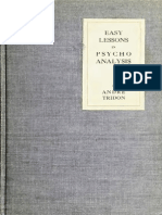 Psychoanalysis Easy Lessons