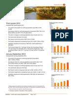 Swedbank's Interim Report Q3 2013