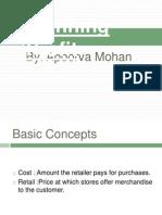 Planning profit (Retail)