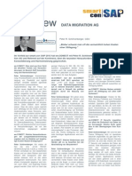 Interview -  Data Migration AG - Peter R. Schönenberger