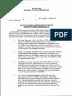 NFA MRA to AlphaMetrix LLC