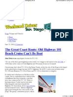 Weekend Driver San Diego _ The Great Coast Route_ Old Highway 101 Beach Cruise Can't Be Beat