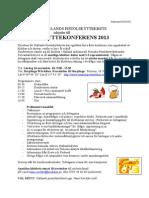 inbjudan kretskonferens 2013
