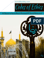 Razavi Codes of Ethics - Islamic Mobility - XKP