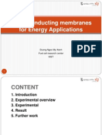 Anion Conducting Membranes for Energy Applications