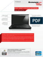 ThinkPad Edge E430 E530 Datasheet US