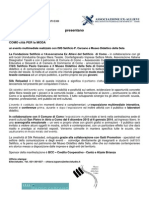 silk  reloaded primo comunicato stampa ok 18 10 13 versione on line pdf