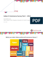 Desidime - Indian E-Commerce Survey Part I – 2013
