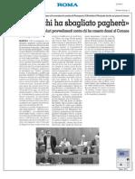 Rassegna Stampa 22.10.2013