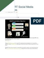 25 SMART Social Media Objectives
