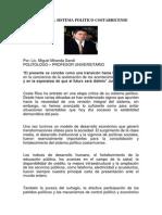 Crisis Del Sistema Politico Costarricense, Miguel Miranda Sandi