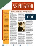 INSPIRATOR 15 Okt 2013 - Badiuzzaman Said Nursi