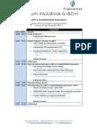 2º Fórum Iniciativas à I&D+i - Programa