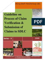 Guideline on Process of Claim Verification