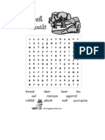 Easy Wordsearches