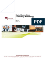 Capital Expenditure Forecasting Methodology