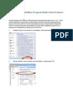 Petunjuk Pengisian Data Adiwiyata Nasional Tahun 2013