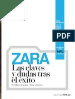 ABRIL PORTAFOLIO RETAIL ZARA Las Claves y Dudas Tras El Exito