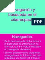 Navegación y búsqueda en el ciberespacio