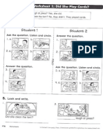 TB English Time 4 Worksheet Unit Test