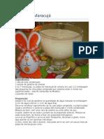 Sobremesas de Maracujá