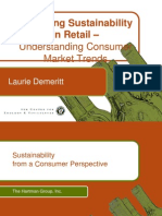 laurie demeritt - marketing sustainability in retail